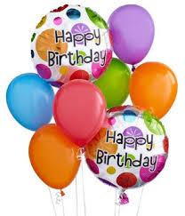 balloon delivery orlando fl happy birthday balloon bouquet in orlando fl edgewood flowers