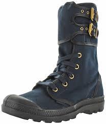 buy combat boots womens palladium pa peloton s canvas combat boots navy after