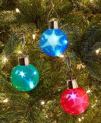 set of 3 lighted ornaments with 3 d effect ltd commodities
