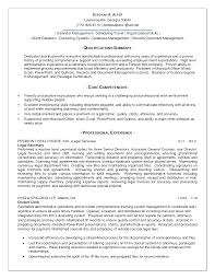 resume summary of qualifications management resume summary of qualifications summary of qualifications resume