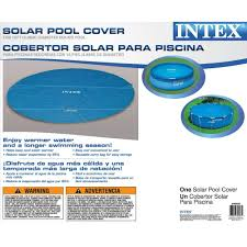 intex deluxe wall mount surface skimmer amazon com intex solar cover for 16ft diameter easy set and