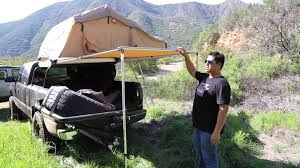 Rooftop Awning Tuff Stuff Rooftop Tent And Awning Youtube