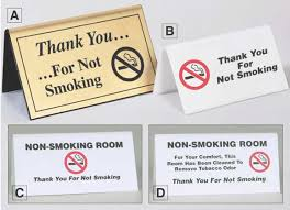 Signage For Comfort Rooms No Smoking Table Signs For Hotels