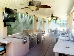 Patio Fans With Misters by Outdoor Entertaining Is Cooler Than Ever With Misting Systems