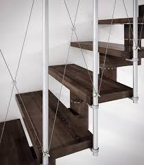 Free Standing Stairs Design Open Staircases Gamma Free Standing Model From Rintal