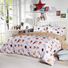 Girls Bedding Sets Queen by Diaidi Kids Cartoon Bedding Set Unique Bedding Dessert Cake Little