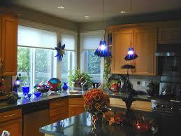 pendant lights cobalt blue annette paajanen fused glass