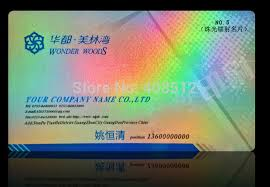 Custom Holographic Business Cards Online Buy Wholesale Hologram Business Cards From China Hologram