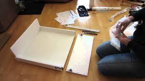 ikea küche schublade tutorial ikea maximera groß 20 cm küchenschublade zusammenbauen
