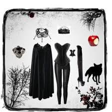 Halloween Costumes Evil Queen Size Evil Queen Costume Apron Cotton