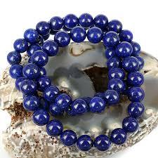 blue bead bracelet images New lapis beads skj ancient bead art jpg