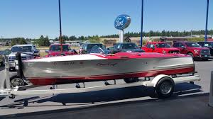 1948 chris craft boat red and white racing runabout u2022 32 995 00