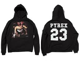 pyrex clothing pyrex vision religion all black hoodie freestylzz clothing