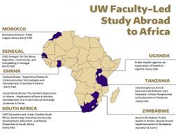 Map Of Uganda Africa by Study Abroad African Studies
