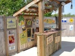 Best Tiki Bar Plans  Ideas Images On Pinterest Backyard - Tiki backyard designs