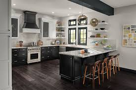 is kraftmaid a cabinet maple kitchen in moonshine and oynx