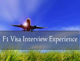 latest f1 visa interview experience usvisatalk com