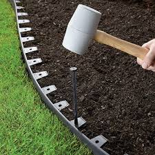 garden design garden design with how to install metal landscape