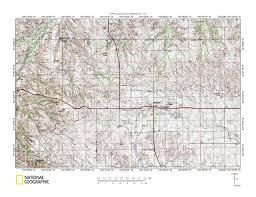 Sd Map White River Keya Paha River Drainage Divide Area Landform Origins
