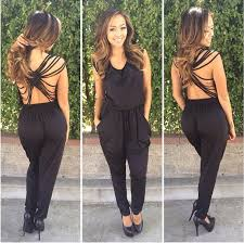 dressy rompers and jumpsuits rompers womens jumpsuits 2015 o neck black bodycon jumpsuit