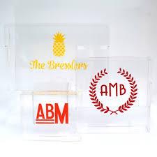 personalized tray personalized acrylic tray