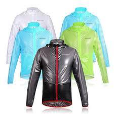 amazon com wolfbike cycling jacket jersey vest wind men s cycling jackets wolfbike waterproof cycling wind raincoat