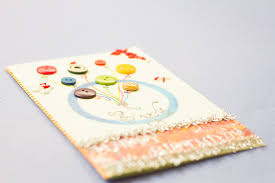 how to design a greeting card with buttons 5 steps