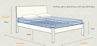 Height Of Bed Frame Bed Frame Height Kensington Bed Get Laid Beds Na Ryby Info