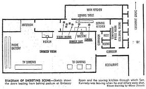 kennedy compound floor plan ambassador hotel los angeles robert kennedy caign for president
