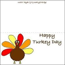 thanksgiving turkey place card template divascuisine