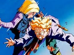 z android 18 in z the history of trunks did android 18 a