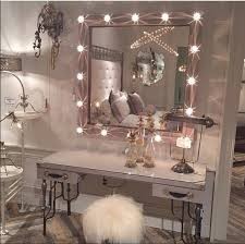 Fashion Bedroom Bedroom Decoration Fashion Girly Home Makeup Mirror Room