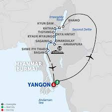 Map Burma Take A Myanmar River Cruise With Avalon Waterways