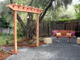 Pictures Of Pergolas In Gardens by How To Build A Simple Garden Arbor Garden Arbours Arbors And