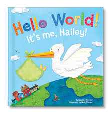 hello world personalized board book from i see me giveaway