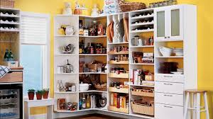 Kitchen Pantry Ideas For Small Spaces Charming White Corner Pantry Organizing Kitchen Youtube