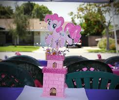 my pony centerpieces a my pony birthday toddler trails
