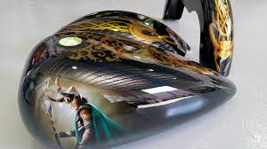 motocross style helmet and airbrushing chicago airbrushed motocross helmets custom