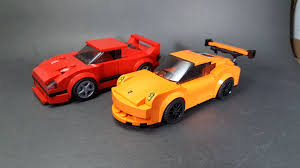 porsche lego set speed champion mocs ferrari f40 and porsche gt3 rs album on imgur