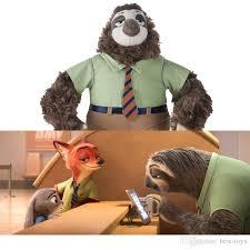 2018 2016 zootopia movies large plush flash fastest sloth soft