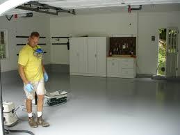 epoxy floor painting in schaumburg il schaumbur concrete floor