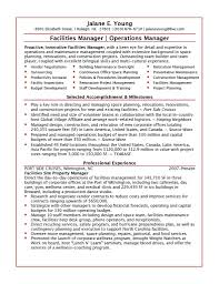 Sap Program Manager Resume Facilities Project Manager Resume Resume For Your Job Application