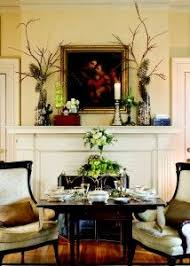 dining table in front of fireplace love the idea of taking traditional boring wooden chairs and