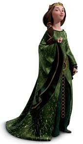 queen elinor feature film costumes and merida