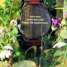five year anniversary gift ideas the 5th anniversary gift idea a wood tree hut