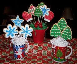 Cookie Arrangements Christmas Cookie Bouquet Ideas Many Others Creative Gifting