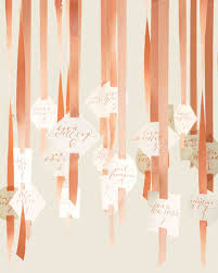 peaches and cream is a wedding color combination that is