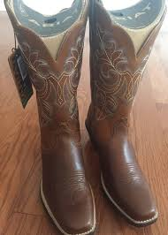 ariat womens cowboy boots size 12 s ariat up square toe boots size 7
