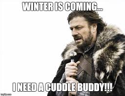 Cuddle Buddy Meme - brace yourselves x is coming meme imgflip