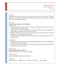 Samples Resumes For Customer Service Sample Resume Customer Service Representative Deployment